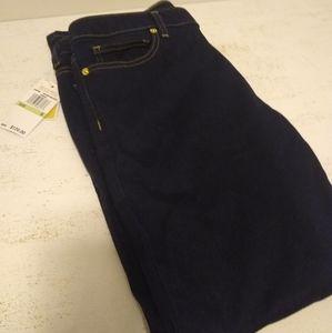 Michael Kors Size 8 Dark Wash Stretch Skinny Jeans